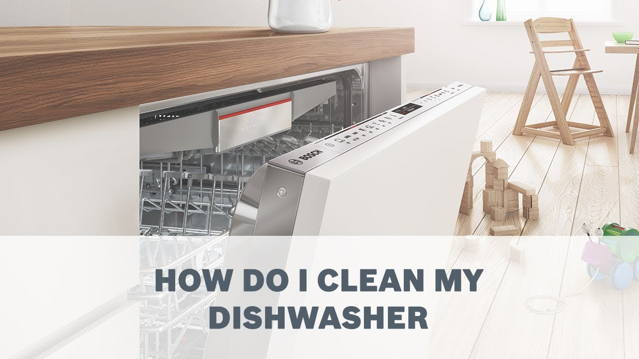 How to Clean Your Dishwashe