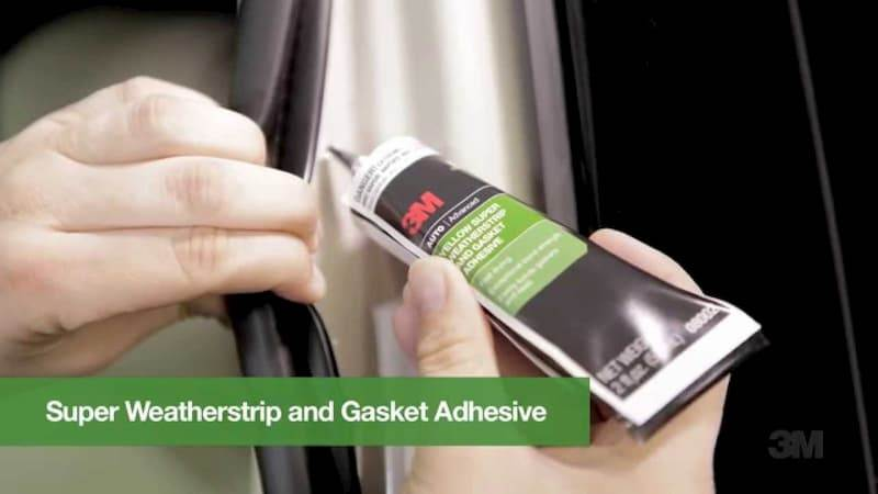 3M Black Super Weatherstrip and Gasket Adhesive